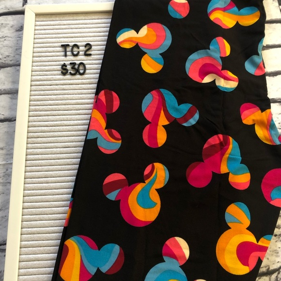 d13788851e6 Plus Size LuLaRoe Disney Mickey Leggings